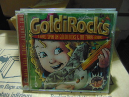 Goldirocks & The Three Bears- Goldirock/ Enhanced Cd - Children