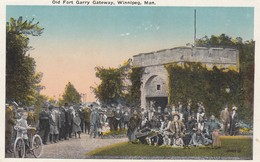 WINNIPEG , Manitoba, 1908 ; Buffalo Bill & Wild West Indians At Fort Garry - Indiens De L'Amerique Du Nord