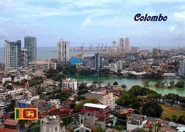 AK Sri Lanka Colombo Aerial View New Postcard - Sri Lanka (Ceilán)