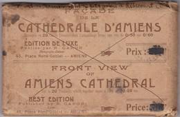 Superbe Puzzle De La Cathédrale D'Amiens En 20 Cartes En Parfait état - RARE - Envoi Daté De 1928 - Voir Scannes - Amiens