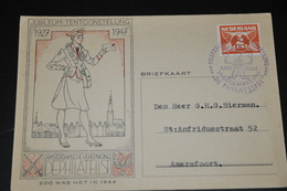 15    JUBILEUM TENTOONSTELLING   DE PHILATELIST, AMSTERDAM - 1946 - Kaarten