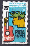 Polynésie Poste Aérienne P.A.T.A. 1970 à Tahiti N°28 Oblitéré - Oblitérés