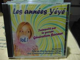 Le Groupe Génération Boomer- Les Années Yé Yé - Disco, Pop