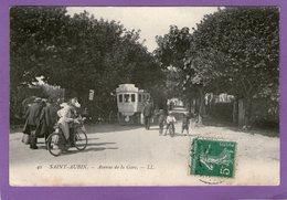 SAINT-AUBIN- Avenue De La Gare - 1910 - - Otros Municipios