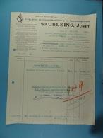 Ateliers De Construction & De Galvanisation Saubleins , Jumet /17/ - Autres