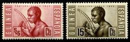 1953 Spain (Guinea) (2) - Guinée Espagnole