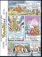 TAAF - 2004 - BF Parc De Loisirs TAAFland En 2055 - Dessins De JC Mézières ** - Blocs-feuillets