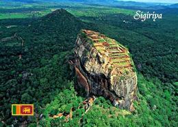 AK Sri Lanka Sigiriya Aerial View UNESCO New Postcard - Sri Lanka (Ceylon)