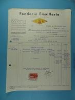 Fonderie Emaillerie Société Anonyme FE Bruxelles /22/ - Allemagne