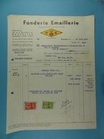 Fonderie Emaillerie Société Anonyme FE Bruxelles /24/ - Allemagne