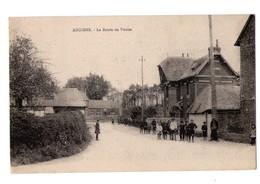 76 - Angiens - La Route De Veules - Autres Communes