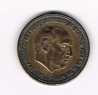 -&  SPANJE  2 1/2  PESETA  1953 ( 56 ) - 2 Pesetas