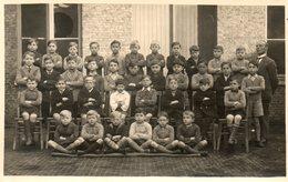 FOTOKAART   SCHOOLFOTO -  ONDERWIJZER - THEOPHIEL MEIRE  UIT  RUYSSELEDE  - GEBOORE 1859 - Unclassified