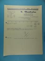 Reproduction De Plans P.Chantraine Marcinelle /26/ - Printing & Stationeries