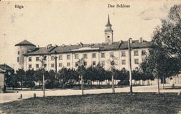RIGA - 1917 , Schloss - Feldpost - Lettonie