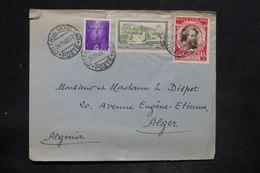 VATICAN - Enveloppe De La Cité Pour Alger En 1948 , Affranchissement Plaisant - L 25711 - Lettres & Documents