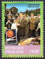 TOGO - 1v - MNH** - FIFA World Champion Germany Players With Trophy Football Soccer Berne Switzerland Fußball - 1954 – Schweiz
