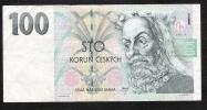 CZECH REPUBLIB  P18  100  KORUN   1997  #E63    VF - Czech Republic