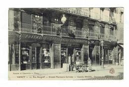 CPA 54 - Nancy 19 Rue Raugraff Grande Pharmacie Lorraine Camille Pagel Docteur - Nancy
