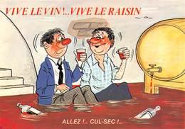 Illustrateur/Humoriste ALEXANDRE - Série Vive Le Vin Vive Le Raisin N'869/4 - Alcool - Ivrognes - Alexandre
