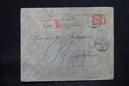EGYPTE - Enveloppe Commerciale En Recommandé Du Caire Pour La France En 1908, Affranchissement Plaisant - L 25717 - Égypte