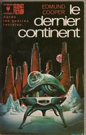 LE DERNIER CONTINENT  De EDMUND COOPER  - MARABOUT SCIENCE-FICTION - N°489 - 1979 - Marabout SF