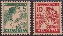 Svizzera Swiss - 681 ** 1915 – Pro Juventute Costumi, N. 149/150. Cert. Biondi. Cat. € 210,00 MNH - Svizzera