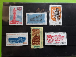 BRASIL / BRAZIL / BRESIL 1965 IV CENTENARIO Cidade De  RIO De JANEIRO , Serie Yvert 756 / 761 Neuve */ MH, TB - Unused Stamps