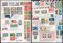 USA - XX. 1978-87. USA - Austria. Mostly Lyndonville. 20 Diff Lovely Colorful Multiple Fkg Incl Stat. - Unclassified