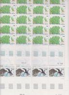 TAAF 1988 Plant + Petrel De Wilson 1v Complete Sheetlets With Full Margins ** Mnh (TA222) - Ongebruikt