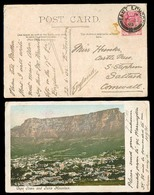 SOUTH AFRICA. 1903. East London / Cape - Cornwall. 2 Color Postcards One Showing Holiday Camping At Beach / Tents. - Afrique Du Sud (1961-...)