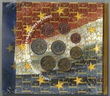 FRANCIA 1999 - DIVISIONALE FDC - N.° 8 Pezzi In Euro - Confezione Originale - France