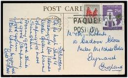SOUTH AFRICA. 1965. Pqbt Maritime Fkd Card To UK. - Afrique Du Sud (1961-...)