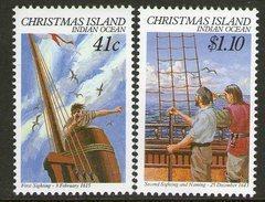 CHRISTMAS Is, 1990 NAVIGATORS 2 MNH - Christmas Island