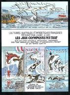 TAAF - 2002 - BF Les Jeux Olympiques Des TAAF En 2050 - Dessins De JC Mézières ** - Blocs-feuillets