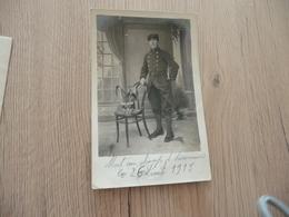 Carte Photo Militaire Militaria Soldat Guerre 14/18 Port Au Champ D'honneur 81 ème Au Képi - Guerre 1914-18