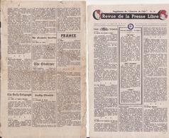 Supplément Du Courrier Le L'air. Revue Dela Presse Libre - Documents Historiques