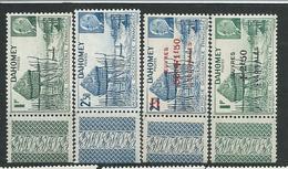 DAHOMEY N° 149/50+153/54 ** TB  1 - Unused Stamps