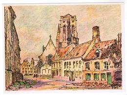 Veurne, Georges Lebacq, Pinxit, Markt Van Beestenvoeder (pk55735) - Veurne
