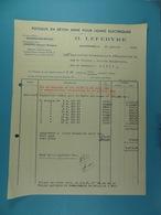 Poteaux En Béton Armé Pour Lignes électriques Quaregnon /28/ - Électricité & Gaz