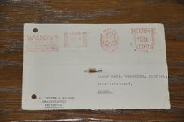 19    BEDRIJFSKAART   N.V. CENTRALE SUIKER MAATSCHAPPIJ, AMSTERDAM - 1950 - Kaarten