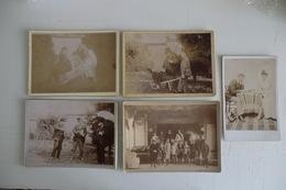 5 ANCIENNES GRANDES PHOTO. 1890/1900. 13,8 X 18,4cm. Comédie, Théâtre, Cinéma......à Situer.  TBE. - Photos