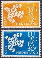 NIEDERLANDE NETHERLANDS [1961] MiNr 0765-66 ( **/mnh ) CEPT - 1949-1980 (Juliana)