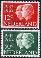 NIEDERLANDE NETHERLANDS [1962] MiNr 0772-73 ( **/mnh ) - 1949-1980 (Juliana)