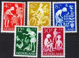 NIEDERLANDE NETHERLANDS [1962] MiNr 0785-89 ( **/mnh ) - 1949-1980 (Juliana)