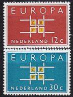NIEDERLANDE NETHERLANDS [1963] MiNr 0806-07 ( **/mnh ) CEPT - 1949-1980 (Juliana)