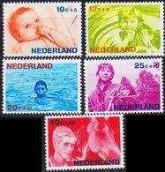 NIEDERLANDE NETHERLANDS [1966] MiNr 0866-70 ( **/mnh ) - 1949-1980 (Juliana)