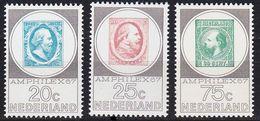 NIEDERLANDE NETHERLANDS [1967] MiNr 0880-82 ( **/mnh ) - 1949-1980 (Juliana)