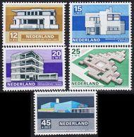 NIEDERLANDE NETHERLANDS [1969] MiNr 0915-19 ( **/mnh ) Architektur - 1949-1980 (Juliana)