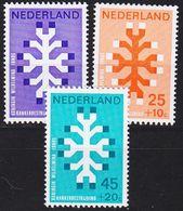 NIEDERLANDE NETHERLANDS [1969] MiNr 0923-25 ( **/mnh ) - 1949-1980 (Juliana)